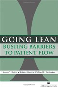 Cover of Going lean : busting barriers to patient flow